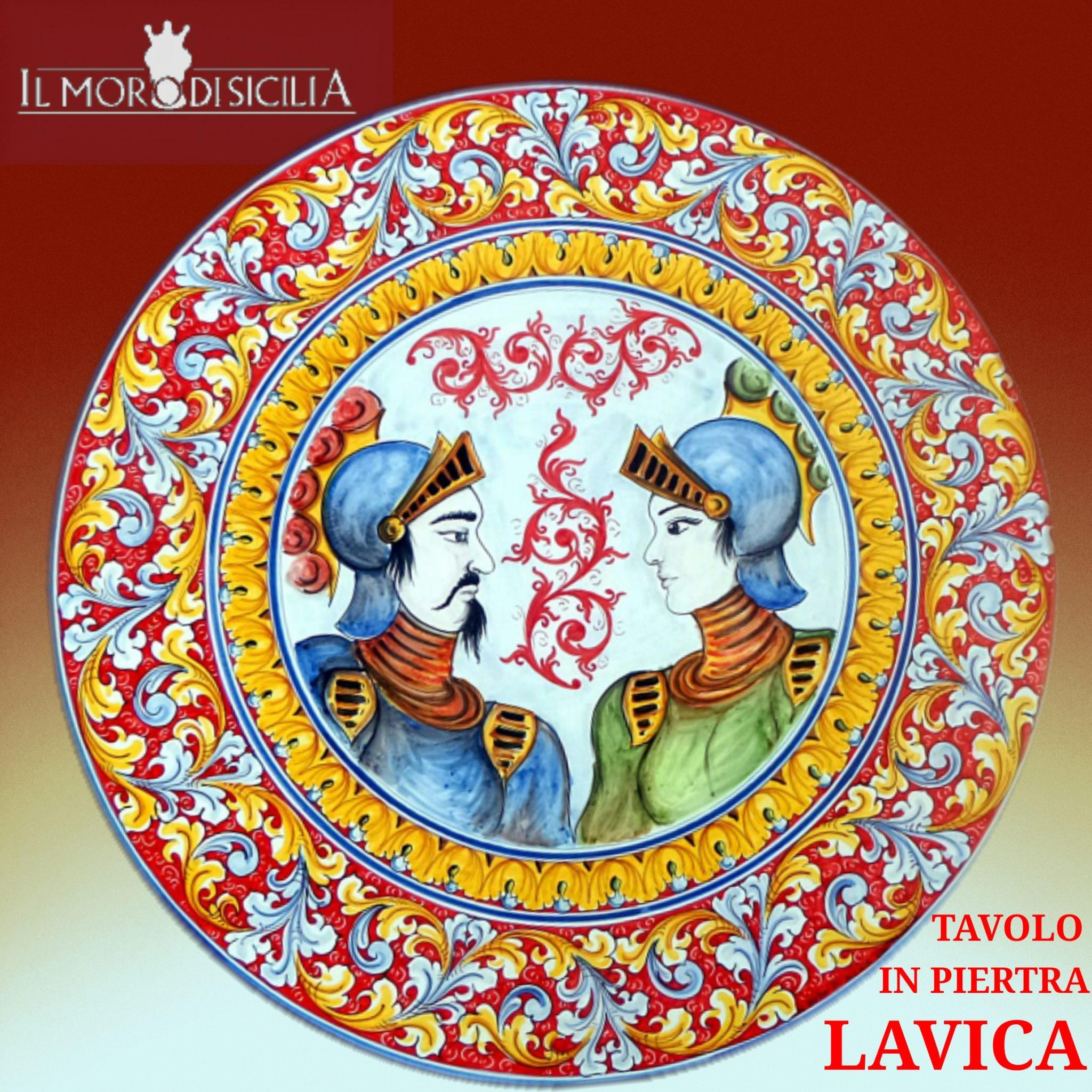Tavoli Da Giardino Ceramica Caltagirone.Il Moro Di Sicilia